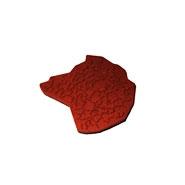 Штамп резиновый для нанесения фактурной штукатурки