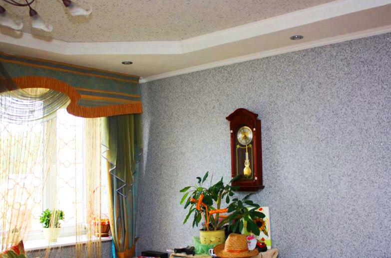 Нанесение декоративной штукатурки фото своими руками
